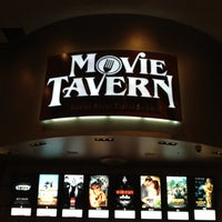 Photo taken at Movie Tavern by Eric B. on 2/27/2012