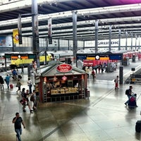 Photo taken at Munich Main Railway Station by Ken H. on 8/25/2012