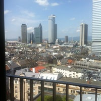Photo taken at Adina Apartment Hotel Frankfurt Neue Oper by Yanina on 6/28/2012