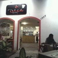 Photo taken at Pizzaria La Dolce Vita by Thayane R. on 6/23/2012