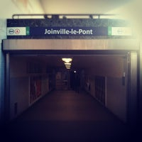 Photo taken at RER Joinville-le-Pont [A] by DJ K. on 3/16/2012