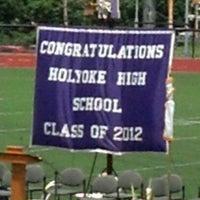 Photo taken at Holyoke High School by Savina M. on 6/3/2012