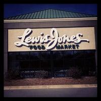 Photo taken at Lewis Jones Food Market by Don B. on 3/4/2012