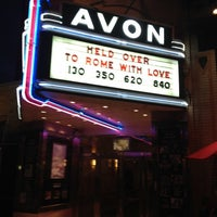 Photo taken at Avon Cinema by Kevin V. on 8/12/2012