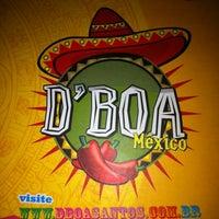 Photo taken at D'Boa México by Janaina on 6/30/2012