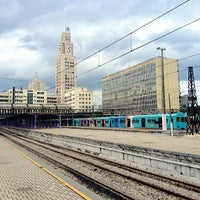 Photo taken at SuperVia - Central do Brasil Train Station by Marcelo A. on 8/15/2012