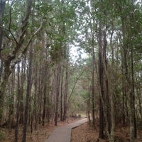 Photo taken at The Theodore Roosevelt Area at Timucuan Preserve by Tim B. on 4/4/2012