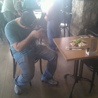 Photo taken at Cafécafé by Ilya on 5/8/2012