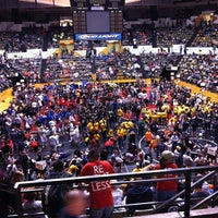 Photo taken at Hearnes Center by Todd F. on 3/24/2012
