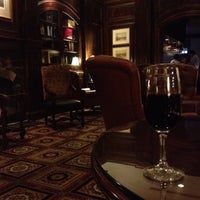 Photo taken at Library Lounge at Old Hickory Steakhouse by Laura M. on 3/1/2012