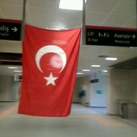 Photo taken at Kozyatağı Metro İstasyonu by Ahmet Edip T. on 8/30/2012