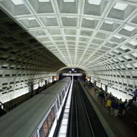 Photo taken at Smithsonian Metro Station by Ray F. on 4/18/2012