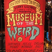 Photo taken at Museum Of The Weird by Jerry G. on 2/10/2012
