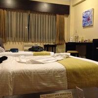 Photo taken at New Horizon Hotel by Karla Mae on 3/26/2012