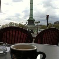 Photo taken at Café Bastille by Seba C. on 4/15/2012