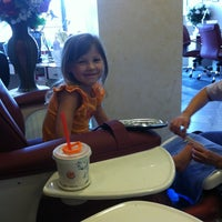 Photo taken at Deluxe Nail Salon by **Michelle N. on 8/10/2012