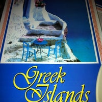 Photo taken at Greek Islands Taverna by Leslie M. on 5/12/2012