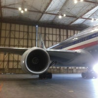 Photo taken at American Airlines Superbay Hangar by frank C. on 6/6/2012