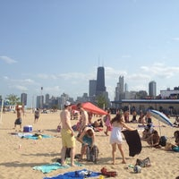 Photo taken at North Avenue Beach by Christian J. on 7/4/2012