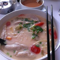 Photo taken at Home Made Fish Head Noodles by Bibi T. on 4/16/2012
