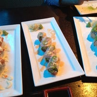 Photo taken at Bluefin Fusion Japanese Restaurant by Paola on 7/29/2012