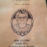 Photo taken at Angelina's Pizzeria & Pasta by Melanie L. on 4/11/2012