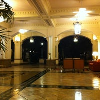 Photo taken at Embassy Suites by Hilton San Francisco Airport Waterfront by John E. on 7/16/2012