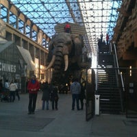 Photo taken at The Machines of the Isle of Nantes by Guillaume C. on 2/26/2012