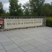 Photo taken at Gettysburg National Military Park Museum and Visitor Center by Jeannie E. on 9/3/2012