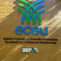 Photo taken at Espaço Cultural e de Extensão Universitária (ECEU   FMRP/ USP) by Fernando T. on 5/3/2012