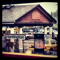 Photo taken at LIRR - Huntington Station by Wyatt S. on 5/1/2012