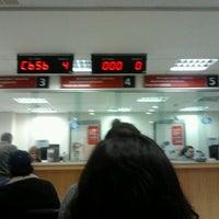 Photo taken at Banco Santander by jaime r. on 5/4/2012