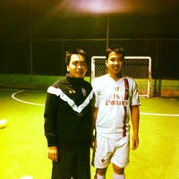 Photo taken at Cimahpar Futsal by Rio R. on 5/7/2012