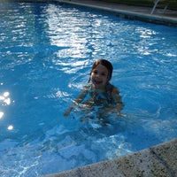 Photo taken at Greg And Tina's Pool by Tina F. on 8/12/2012