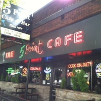 Photo taken at The 5 Point Cafe by Katherine E. on 8/20/2012