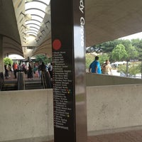 Photo taken at Shady Grove Metro Station by Donisha W. on 6/27/2012