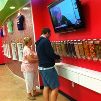 Photo taken at CherryBerry Yogurt Bar by Mary W. on 7/29/2012