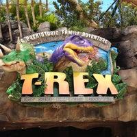 Photo taken at T-Rex Cafe by John on 7/16/2012