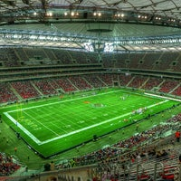 Photo taken at PGE Narodowy by Kuba M. on 9/3/2012