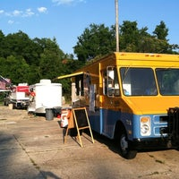 Photo taken at All Saints Hop Yard by Street Chefs on 5/25/2012