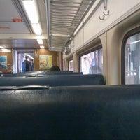 Photo taken at MBTA Commuter Rail - Lowell Line by Kayla H. on 2/13/2012