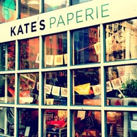 Photo taken at Kate's Paperie by Matthew B. on 6/18/2012