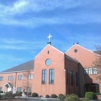 Photo taken at St. Michael the Archangel by Ana katrina G. on 3/24/2012