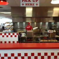 Photo taken at Five Guys Burgers And Fries by Brian T. on 6/12/2012