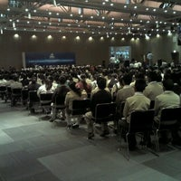 Photo taken at Centro de Convenciones William O. Jenkins by Marcos C. on 5/30/2012