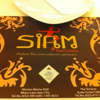 Photo taken at Siam Thai Cuisine by MissyAnny A. on 4/27/2012