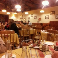 Photo taken at Bavaria, Cafeteria y Restaurant by Mario A. on 2/12/2012