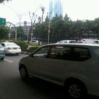 Photo taken at Jalan H.R. Rasuna Said by Xmal F. on 4/10/2012