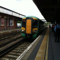 Photo taken at Fareham Railway Station (FRM) by Ben A. on 5/16/2012