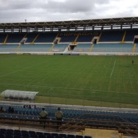 Photo taken at Estadio Monumental de Maturín by Bam G. on 3/25/2012